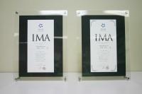 IMA検定合格認定書